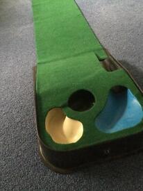 Official PGA tour golf putting mat.
