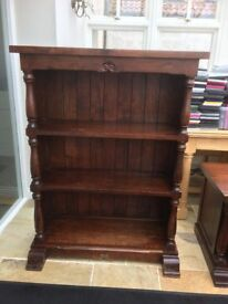 Solid Wood Bookcase, TV Unit and Cupboard