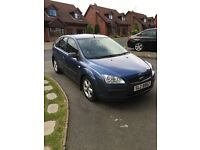 Blue 2006 Ford Focus For Sale, 6 Months MOT