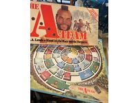 The A Team board game. Vintage, retro