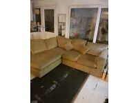 REDUCED corner sofa for sale asap