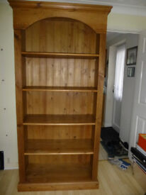 Solid Wood Bookcase - Hgt 2030cm