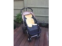 Bugaboo Cameleon 2nd Generation with Jojo Maman Bebe accessories