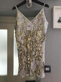 In the Style sequin dress size 8