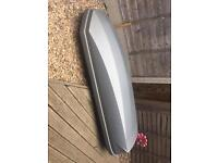 Halfords 360L roof box and roof bars