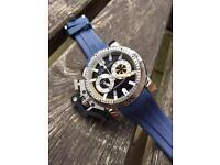 Graham chrono diver blue watch