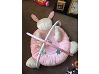 Baby girls play mat from mothercare