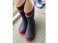 Peter storm ladies wellies brand new size 6