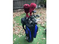 Golf set Left Handed with Bag / Trolley