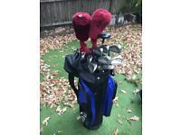 Golf set Left Handed with Bag / Trolley