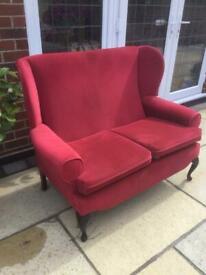 2 seater queen Ann sofa