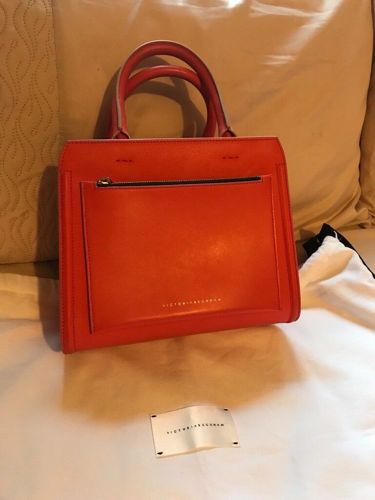620955b97e0 Victoria Beckham red leather handbag | in Baildon, West Yorkshire ...