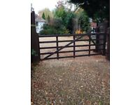 Gate and 2 new posts