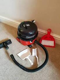 Henry Numatic Hoover. Children's Toy size. Battery operated.