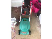 Bosch electric lawnmower