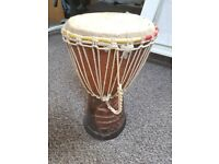 Large Decorative African Drum