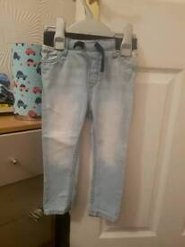 5 jeans 12-18 months from h&m and Matalan