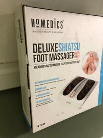 HOMEDICS DELUXE FOOT MASSAGER WITH HEAT Brand new Sealed in box