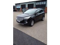 2017 Black Ford Kuga For Sale VERY LOW MILEAGE