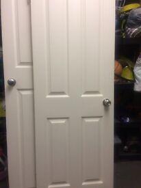 White 4 panel doors