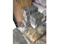 Edging blocks - grey