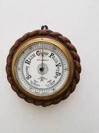 Antique Scottish barometer