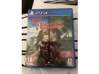 PS4 Dead Island (No Dead Island Riptide or Dead Island Retro DLC)