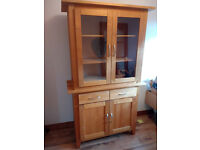 **SOLD**PINE 4 DOOR AND 2 DRAWER CUPBOARD**SOLD**