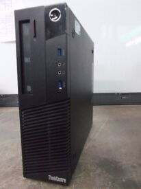 LENOVO THINKCENTRE M83 PC I3-4120 @ 3.4GHz 8GB DDR3 500GB HDMI DVDRW INC VAT!!