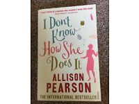I Don't Know How She Does It Fiction Book By Allison Pearson