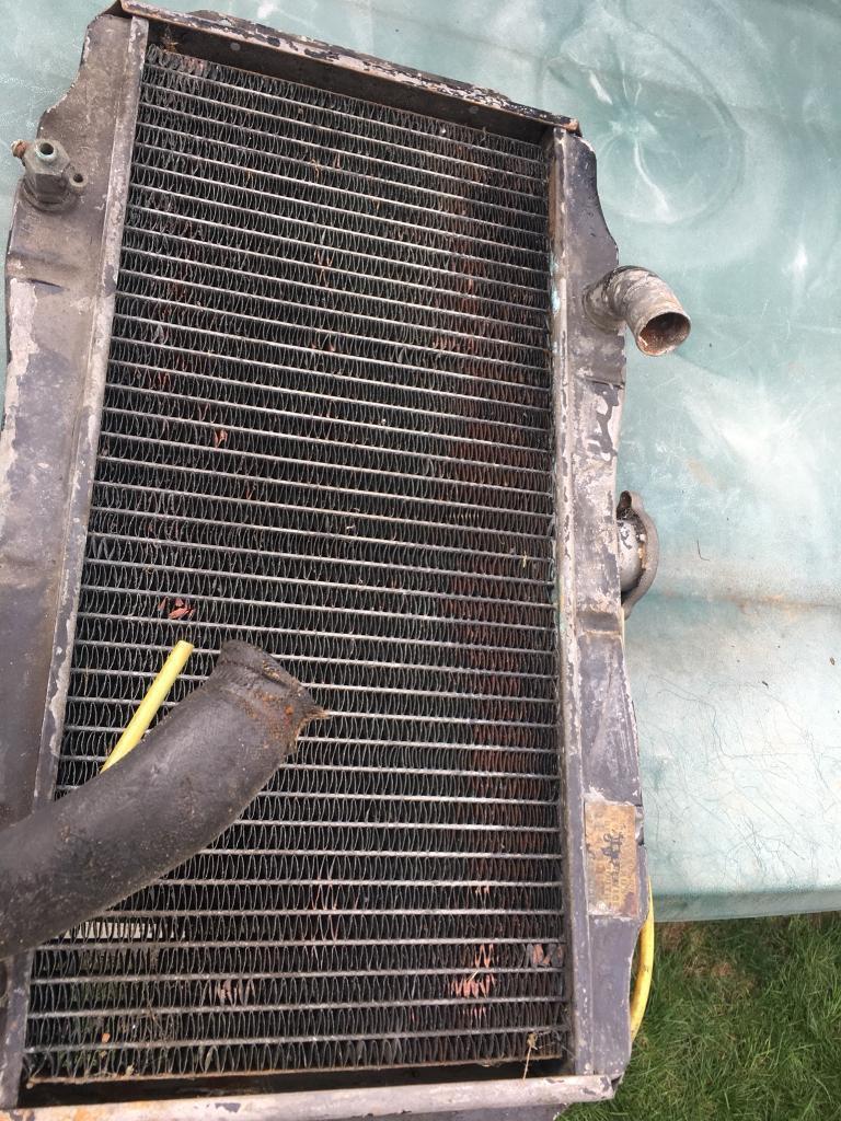 Triumph herald radiator