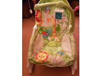 Child seat and rocking chair