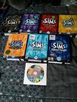The Sims Deluxe Editions with all expansions in box
