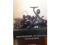 Shimano Baitrunner 6000ra with spare spool