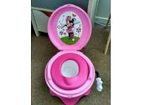 Minnie Mouse Potty training toilet seat
