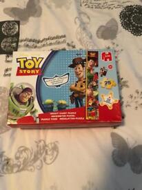 Disney Toy Story Height Chart jigsaw puzzle. Never got round to using