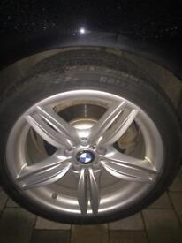 """19"""" double spoke bmw alloy wheels"""