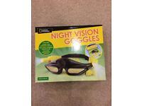 Brand new kids night vision goggles