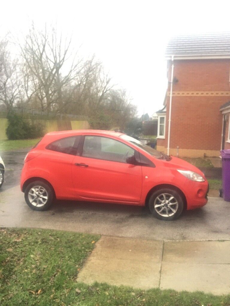Plate Ford Ka   Owner From New Full Mot Cheap Road Tax Only  A Year