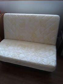 Excellent Sofa Bed. Unused interior sprung mattress