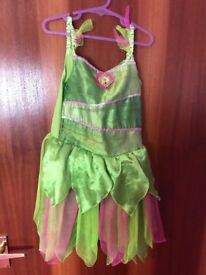 Tinker bell Dress with wings