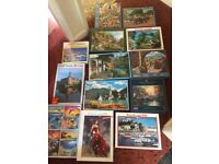 Job lot of Jigsaws Mainly 1000 piece