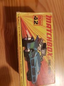 MATCHBOX CARS ALL AS NEW IN BOX X 7 OFF (BARGAIN)