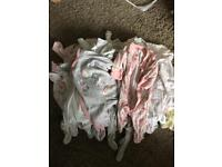 Large girls newborn bundle
