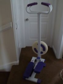 Body sculptor Step machine with twister