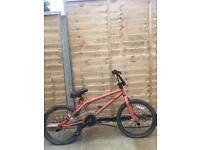 Bicycle - x-rated bmx orange - £25