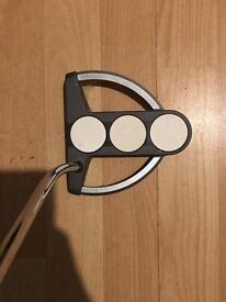 Odyssey White Steel Tri-Ball Putter