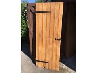 Reclaimed pine doors (stripped & treated)