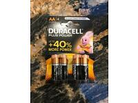 AA Duracell Plus Power Battery Cell