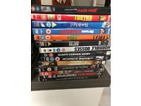FREE - selection of DVDs (pictured)